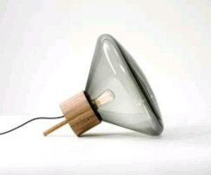 Lámpara madera diseño