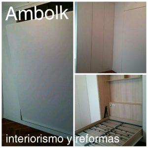 Dormitorio con cama plegable tendencia y funcionalidad for Cama cerrada