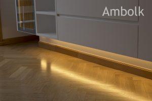 Iluminación indirecta mueble a medida